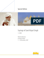 Sayings of Sant Kirpal Singh 1/2008