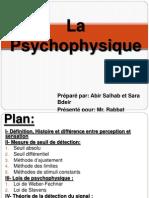 La Psychophysique