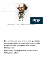 Webquest Shakespeare