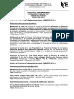 #EducaciónUCV Minuta Consejo Escuela de Educación 1471. 06.06.12 #UCV
