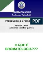Aula 1 Bromatologia