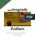 Retrograde Zodiacs