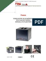"""TV8921 manual (France) Le nouvel enregistreur vidéo numérique DVR MJPEG """"All-in-one"""""""
