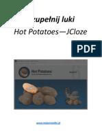 Hot Potatoes - Przewodnik - Jcloze