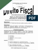 Apontamentos de Direito Fiscal Universidade Aut