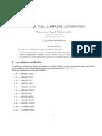 Spanisch Lek 1