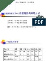吳中仁-國際育成趨勢與策略分析