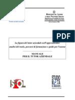 Manuale Tutor Aziendale