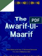 Awarif Ul Maarif by Shaykh Shahabuddeen Sohrwardi r A