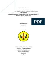 Proposal PT. KAI