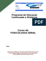 Toxicologia Geral 01
