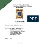Tlc Peru - China