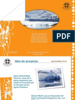 Estudio de prefactibilidad de la producción y comercialización de agua del glaciar Jorge Montt