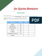 5°examenb5 QUINTO GRADO-MIKE-jromo05