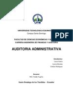 auditoria administrat