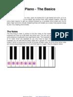 Beginners Piano Chord Guide