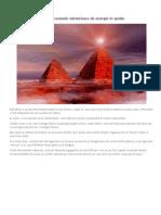 Piramidele Lumii Transmit Semnale Misterioase de Energie in Spatiu
