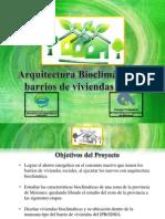 Arq Bioclimatica Para Barrios de Viviendas Ing Cabrera