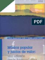 Musica Popular y Juicio de Valor
