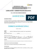 Documento Uno - Accion de Tutela