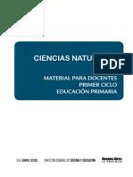 MATERIAL PARA EL DOCENTE-Ciencias Naturales Primer Ciclo