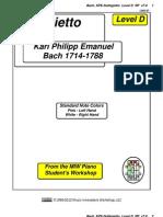 RP - Bach, KPE-Solfeggietto Lvl D v7.0 1205-07