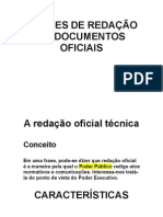 Noções de Redação de Documentos Oficiais