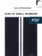 Fear of Small Numbers an Essay on the Geography of Anger