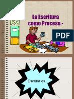 Escritura Como Proceso