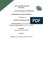 Practica 3 Quimica Organica II