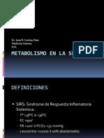 Metabolismo en La Sepsis