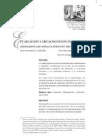 EVALUACION Y METACOGNICIÓN EN EL AULA