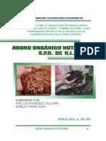ELABORACIÓN DE ABONO ORGANICO NUTRITIERRA