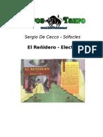 De Cecco, Sergio _ Sofocles - El Reñidero _ Electra