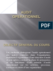 Cours Introduction Audit Operationnel Vol 1