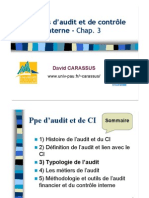Typologies de l'Audit