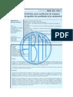 NBR ISO 19011 2002 Diretrizes Para Auditorias de Sistema de Gestao Da Qualidade e Ou Ambiental
