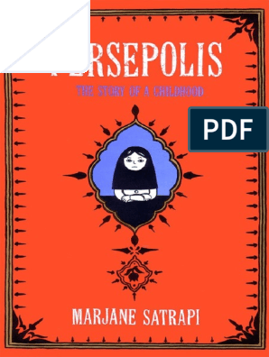 Satrapi Persepolis 1 English Comics