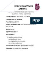 Reporte Quimica 2
