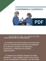 PERFIL DE LA ENFERMERA QUIRÚRGICA