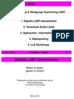 Eerste Uitkomsten LGBT-acceptatie vragenlijst