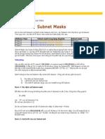 Bài viết Subnet Masks