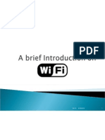 A Brief Introduction on WIFI