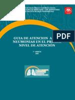 Guia de Atencion de Neumonias Atendidas en La Comunidad