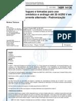 NBR14136 - 2002 - Plugues e Tomadas Domesticas