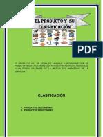 EL PRODUCTO Y  SU CLASIFICACIÓN