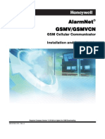Honeywell GSMV Install Guide