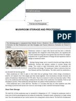 Mushroom Storage and Processing