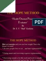 The Hope Method-Dieta