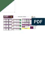 Calendario Euro 2012 Excel